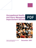 Improvement Standards Occupational Health Safety Injury Management Return to Work 5302