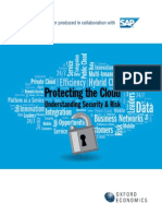Oxford Economics Protecting the Cloud Understanding Security Risk 3 4