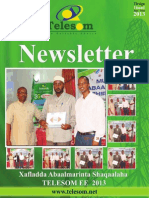 Telesom NewsLetter Issue 16 Mar 2013