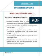 X Practice Paper 1