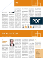 TIM-CONSULTING Newsletter Mai 2014