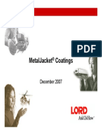 MetalJacket Overview Capabilities