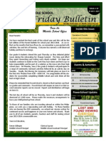 Parent Bulletin Issue 37 SY1314