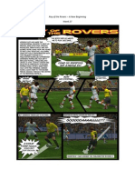 Roy of the Rovers - A New Beginning - Week 27 - Football Fiction Comic