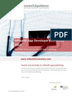 MHealth App Developer Economics 2014