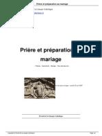 Priere Et Preparation Au Mariage