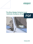 Blue Badge Scheme Local Authority Guidance Paper