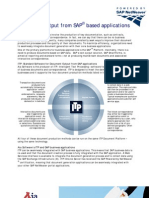 Document Output From Sap Applications ITP Fs A4