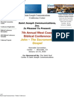 West Coast Biblical Conference