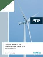 Siemens Wind Turbine WS SWT-2.3-101