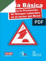 Pub53322 Guia Basica Para La Prevencion de Riesgos Laborales en El Sector Metal