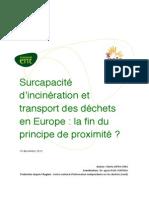 20121219 Etude GAIA Surcapacite Incine Ration FR
