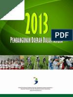 Pembangunan Daerah Dalam Angka 2013