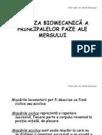 16. Biomecanica mersului