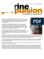 Marine Propulsion Article