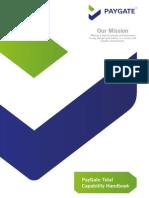 PayGate Capability Handbook V1.1