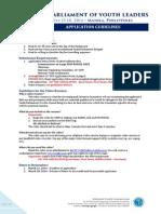 Revised Application Form V3