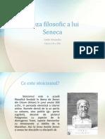 Proza Filosofica a Lui Seneca