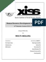 Multi Skilling Write Up Daksh
