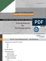 Purchasing Activity Training