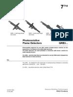 QRB Photoresistive Flame Detectors