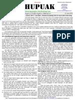 Thupuak Volume 8, Issue 52 (01 June 2014)
