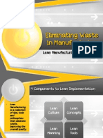 Eliminating Waste in Manufacturing