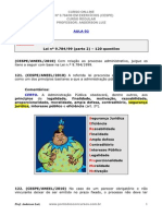 Lei 9.784 - Em Exercícios Cespe - Aula_02 - Part.1 Imprimir