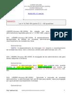 Lei 9.784 - Em Exercícios Cespe - Aula_03 - Part.1 Imprimir