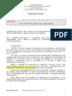 Lei 9.784 - Em Exercícios Cespe - Aula_03 - Part.2 Imprimir