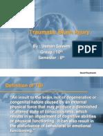 Tbi traumatic brain injury