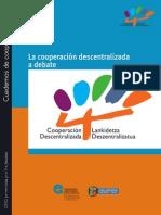 La Cooperación Descentralizada a Debate - Cuaderno 1