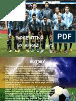argentina ppt by afraz