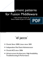 08709_Landlust Haslam Deployment Patterns for Fusion Middleware 11g v2
