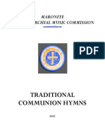 Traditional Communion Hymns