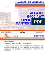 Alcatel 9400 AWY Operation (Spa)
