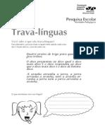Atividade Trava Linguas