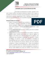 Planejamento Das Atividades Do PEG - Conselho Diretor (1)