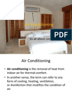 Air Conditioning Load calculation