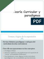 Teoria Curricular y Paradigmas