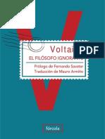 El filósofo ignorante - Voltaire.pdf