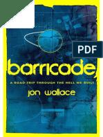 Barricade by Jon Wallace