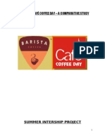 Blackbook Project on Barista and Cafe Coffee Day