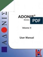 ADONIS User Manual