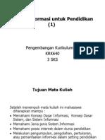 Sistem Informasi Untuk Pendidikan (a)