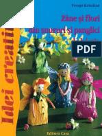 Carti Idei.creative.nr.46 Zane.si.Flori.din.Snururi.si.Panglici.de.Hartie Ed.casa TEKKEN
