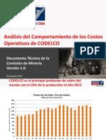 Analisis Costos Operativos Codelco