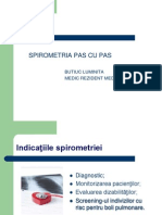 spirometrie prezentare
