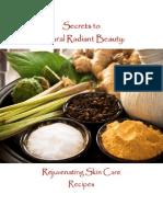Skin Care Recipes