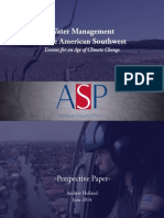 Water Management in the American Southwest